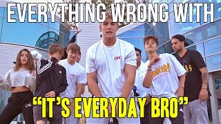 Everything Wrong With Jake Paul 'It's Everyday Bro'