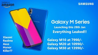 Samsung Galaxy M Series - M10, M20, M30 - Everything LEAKED!! Xiaomi, Realme, Asus, Honor Killer??