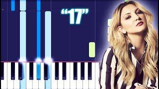 Julia Michaels   17 (Piano Tutorial) By MUSICHELP