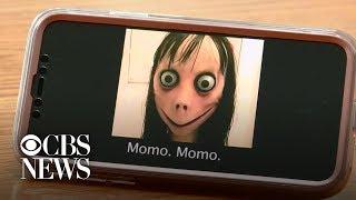 """""""Momo challenge"""" frightens kids, worries parents"""