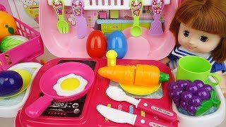Baby Doll Kitchen Cart Cooking Toys Baby Doli Play