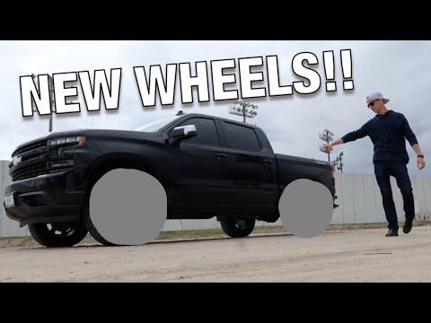 FINALLY!! New Wheels On My 2019 Silverado