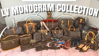 My Massive Louis Vuitton Monogram Collection! Rare, Vintage, Limited Edition Bags, Luggage & SLGs