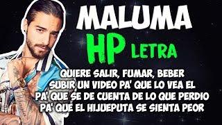 Maluma   HP (LetraLyrics)