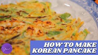 HOW TO MAKE KOREAN PANCAKE ✨ EAT WELL #38