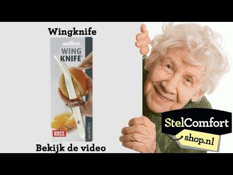 Sinaasappelschiller Wingknife | StelCOmfortshop.nl