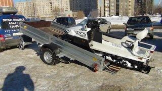 Лучший Прицеп для перевозки снегохода AvtoS AF34AB