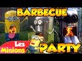 LES MINIONS - BARBECUE PARTY