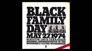 Louis Farrakhan   Black Family Day (1974)