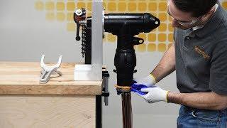 CSH Series   Cold Shrink Hammerhead - Installation Demonstration