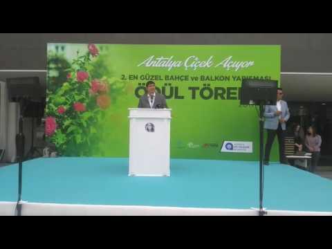 Antalya Büyükşehir Belediyesi'nden 'En Güzel Bahçe ve Balkon Yarışması'