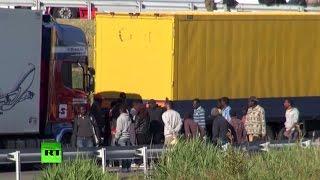 Зайцем через Ла-Манш: нелегалы подставляют дальнобойщиков