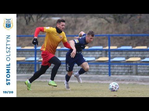 Gol z meczu Znicz Pruszków - Stomil Olsztyn 1:0