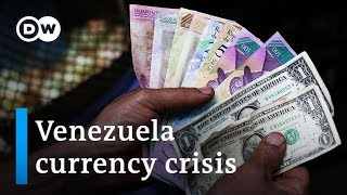 Plummeting bolivar has Venezuelans clamoring for US dollars | DW News