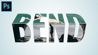 Bending 3D Text Effect - Photoshop Tutorial Typography