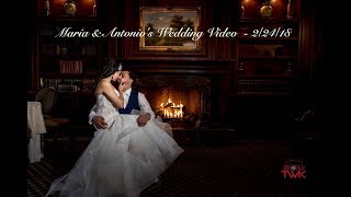 Maria & Antonios wedding video | A Spanish wedding