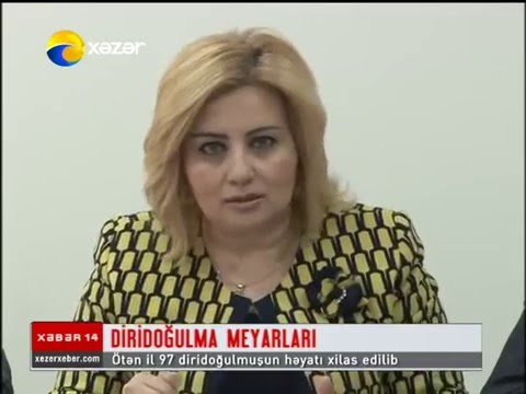 Briefing for journalists on the introduction of new live birth criteria - Xəzər TV coverage