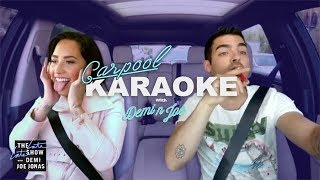 Demi Lovato And <b>Joe Jonas</b> Carpool Karaoke