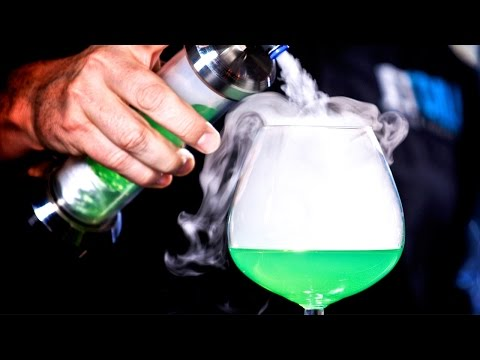 Video Dry Ice Cocktails | With JetChill Vapour Cloud