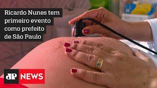 Ricardo Nunes acompanha retomada da vacinação para grávidas em São Paulo