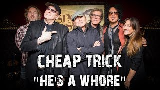 "Cheap Trick Perform ""He's A Whore"" in the Sixx Sense Studio"