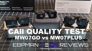 Master & Dynamic MW07 Plus & MW07 Go Review & Call Quality Test