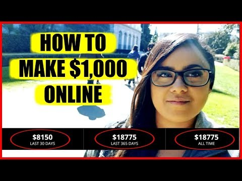 "(2018) How To Make Money Online Fast ""25 dollar 1up review"" Get Paid Daily!"