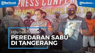 Polisi Berhasil Ungkap Peredaran Narkoba Sabu Dalam Kemasan Teh di Tangerang
