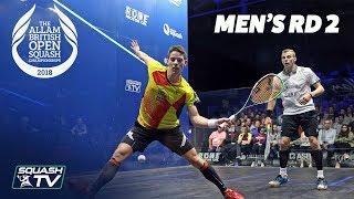 Squash: Allam British Open 2018 - Men