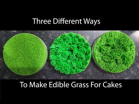 mp4 Cake Decoration Grass, download Cake Decoration Grass video klip Cake Decoration Grass