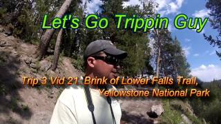 Upper Falls of the Yellowstone River, Yellowstone National Park