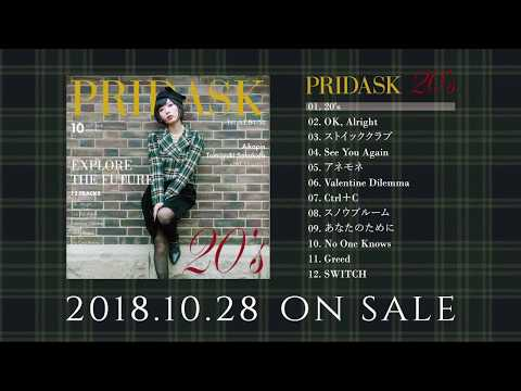 PRIDASK / 1st Album 「20's」[Preview]