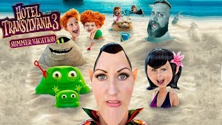 Hotel Transylvania 3 Summer Vacation Movie Review and Hotel Transylvania Crazy Cruise Gameplay