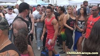 Rich Piana & Friends #3 at Muscle Beach Labor Day 2013