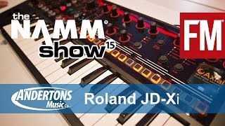 NAMM 2015 - Roland JD-Xi Synthesizer