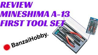 Review (Video): Mineshima A-13 First Tool Set