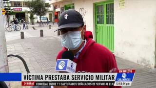 Asesinan A Joven Que Prestaba Servicio Militar Al Sur De Bogotá