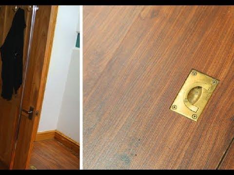 Парень поселился в новом доме и нашел секретную дверь