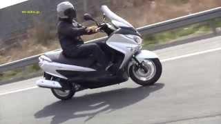 SUZUKI Burgman 200 Road Test WEB Mr. Bike