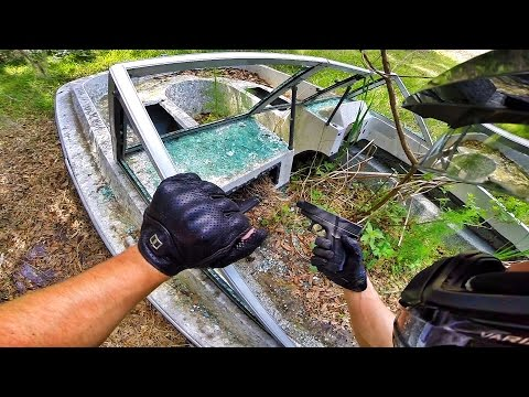 I FOUND A GUN IN ABANDONED BOAT!!