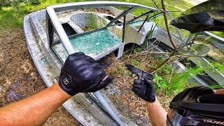 I FOUND A GUN IN ABANDONED BOAT!! - Video Youtube