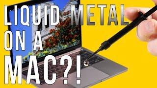 Liquid Metal in a MacBook Pro: No More Throttling! - dooclip.me
