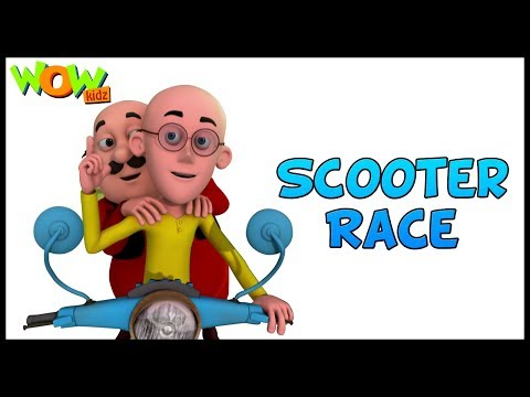 Motu Patlu In Hindi | Hindi Cartoons | Motu Patlu Ki Jodi | Scooter Race | Animated Series|Wow Kidz