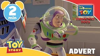 Toy Story | Buzz Lightyear Explores Space 🚀 - Think Big with Thinkway | Disney Junior UK #AD