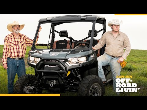2021 Can-Am Defender Pro Lone Star HD10 in Clovis, New Mexico - Video 1
