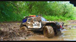 RC Police Car HARD MUD OFF Road — RC Extreme Pictures