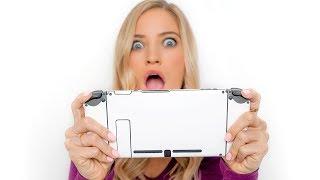 😱 Custom Nintendo Switch Skins!