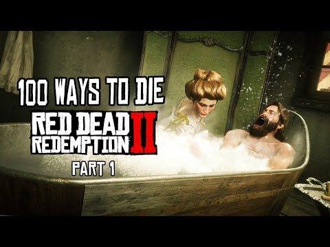 100 Funny Ways to Die: Red Dead Redemption 2 (part 1)