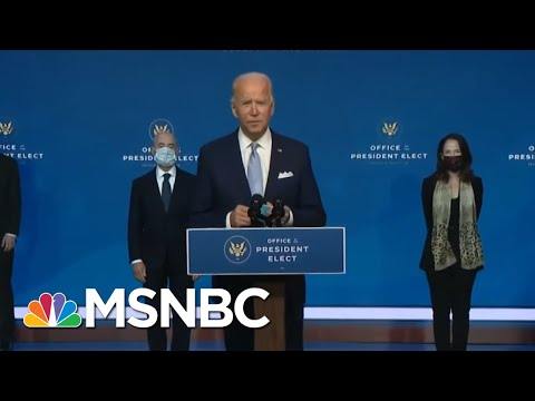 Biden: My Administration Will Be A 'Coalition Builder' | The ReidOut | MSNBC