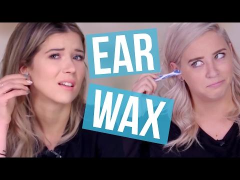 Removing EAR WAX (Again)?! (Beauty Break)